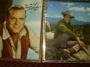 signed photos Dan Blocker Michael Landon from Bonanza for Sale in Fresno, CA