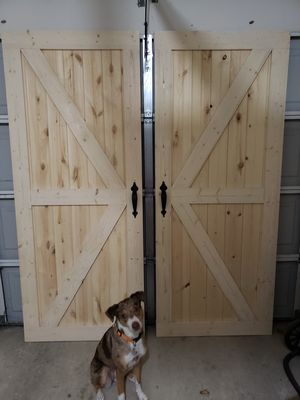 Barndoors/baby gates/doggy gates for Sale in Coppell, TX