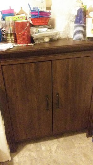 Brown cabinet for Sale in Odenton, MD