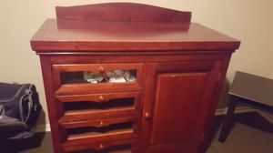 Kids dresser with changing table for Sale in Victoria, TX