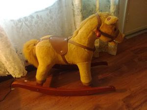 Rocking horse with sounds for Sale in Spencer, WV