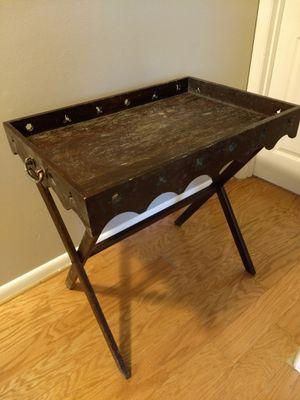 Serving table oak wood.. for Sale in Springfield, VA