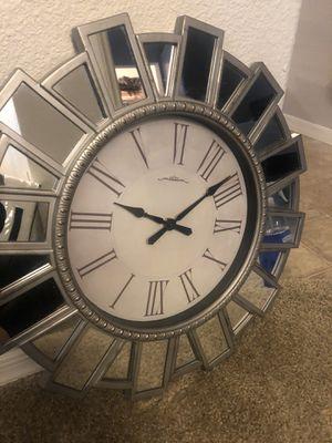 MIRRORED WALL CLOCK for Sale in Phoenix, AZ