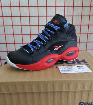 KIDS REEBOK QUESTION ALLEN IVERSON SIZE 5 GRADE SCHOOL NEW WITH BOX $100 for Sale in Cleveland, OH