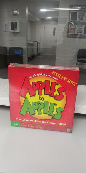 Apples to Apples Party Box for Sale in Gaithersburg, MD