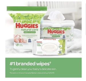 Huggies Natural Care 3 pack (624) Baby Wipes for Sale in Davie, FL