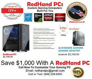 PC Building: Custom PCs & Gaming PCs for Sale in Lake Forest, CA