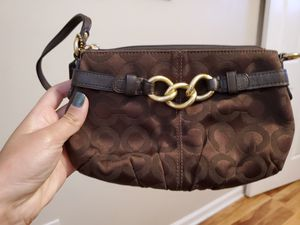 Authentic Classic Coach Wristlet for Sale in Clifton, VA