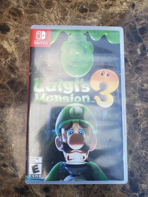 Nintendo Switch game Luigi' mansion 3 for Sale in Queens, NY