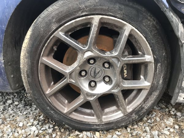 2008 Acura TL type s for parts part out wheels