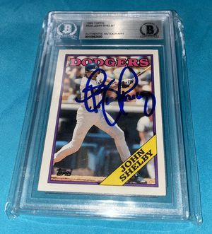 Dodgers John Shelby autographed card Beckett for Sale in Arcadia, CA