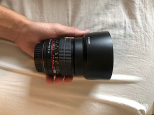 Rokinon lense for canon, 85mm 1.4 for Sale in West Palm Beach, FL