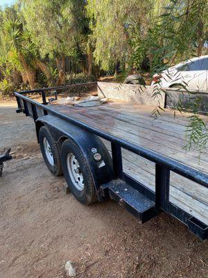 2013 big Tex 16 foot heavy duty car hauler/trailer with gate for Sale in El Cajon, CA
