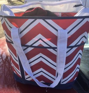 Extra Large Zig Zag Tote Bag for Sale in Fort Worth, TX