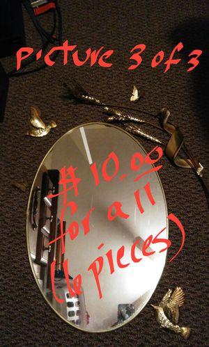 Mirror, 2 birds, 2 butterflies, wheat stalk for Sale in Harrisonburg, VA