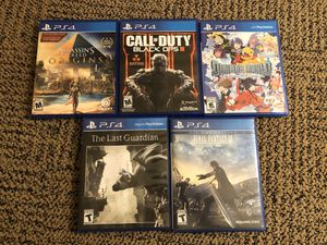 Games for PS4 for Sale in Fort Drum, NY