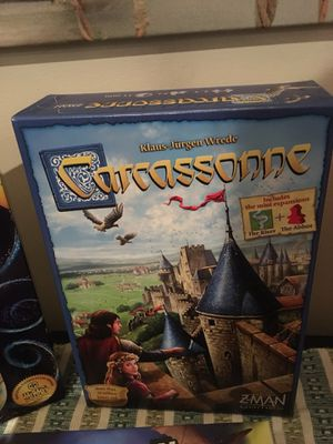 Carcassone modern strategy board game Eurogame for Sale in Chantilly, VA
