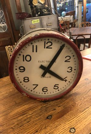 Antique French Double Sided Clock for Sale in New York, NY