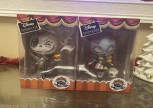 The Nightmare Before Christmas Jack and Sally figures Disney for Sale in Las Vegas, NV