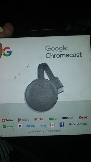 Google Chromecast 3rd generation for Sale in Indianapolis, IN