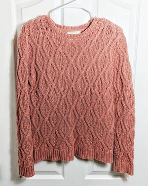 Anthropologie, Ruby Moon Cable Knit Sweater for Sale in Walla Walla, WA