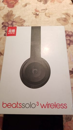Beats Solo3 Wireless On-Ear Headphones - Matte Black Brand new. for Sale in Indianapolis, IN
