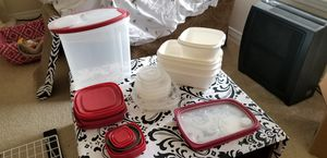 Variety of storage containers with lids for Sale in Broomfield, CO
