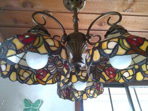 Tiffany style 3 light Chandelier for Sale in Bremerton, WA