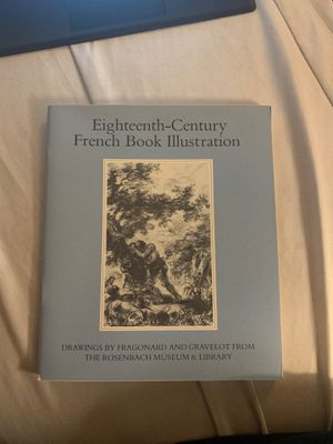 Eighteenth-Century French Book Illustration by Kimberly Rorschach for Sale in Sammamish, WA