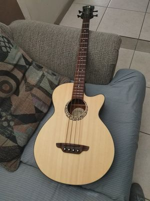 Luna LAB30 Tribal short scale acoustic electric Bass guitar for Sale in Fort Lauderdale, FL