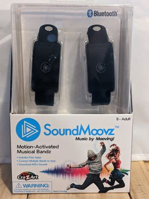 Cra-Z Art Soundmoovz Motion Activated Musical Bandz for Sale in South Williamsport, PA