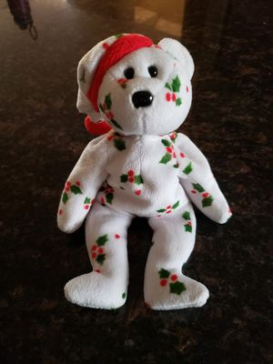 Beanie Baby Christmas jingle bear, clean for Sale in Puyallup, WA