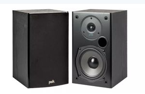 BNIB Polk Audio T15 Bookshelf Speakers for Sale in Maricopa, AZ