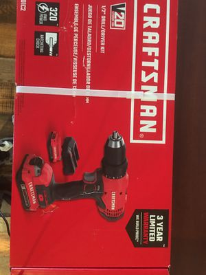 Crafts man new 1/2 drill for Sale in Nicholasville, KY
