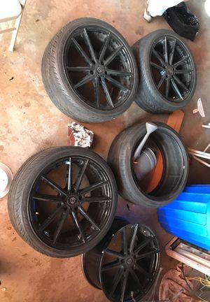 Curva Concepts 19' wheel set for Sale in Los Angeles, CA