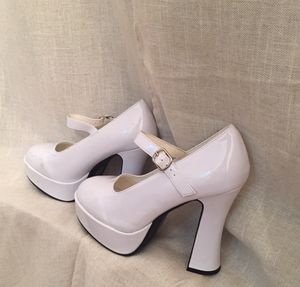 Chunky Vinyl White Platform Mary Janes from Ellie for Sale in New York, NY