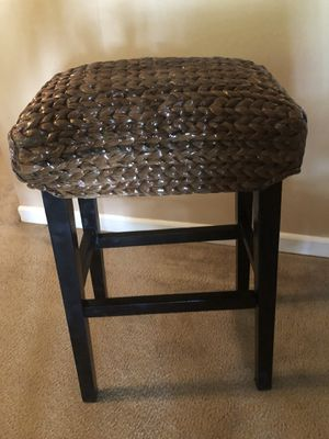 """A pair of seagrass 30"""" bar height stools brand new out of the box never sat in 99.00 for the pair! for Sale in Anderson, SC"""
