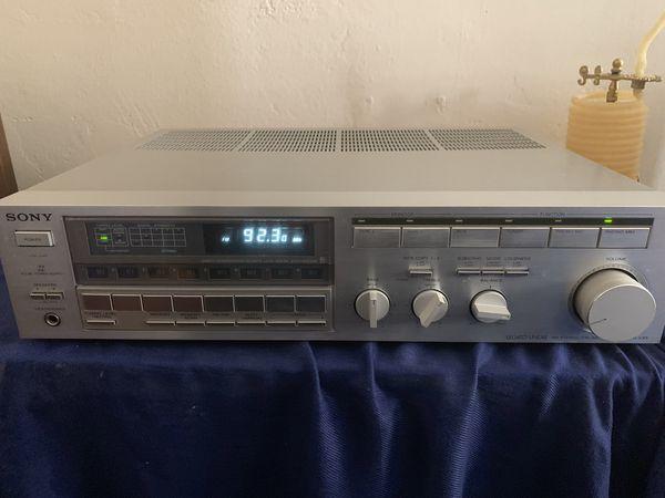 Vintage Sony Stereo Receiver Legato Linear STR-VX5 retro Vinyl Turn table