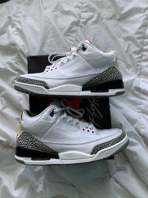 "Jordan 3 ""White Cement"" size 13 for Sale in Naperville, IL"