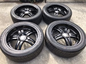 20 INCH GIOVANNA BRAND NEW RIMS AND TIRES, 0 miles, 5x112 bolt pattern for Sale in Auburn, WA