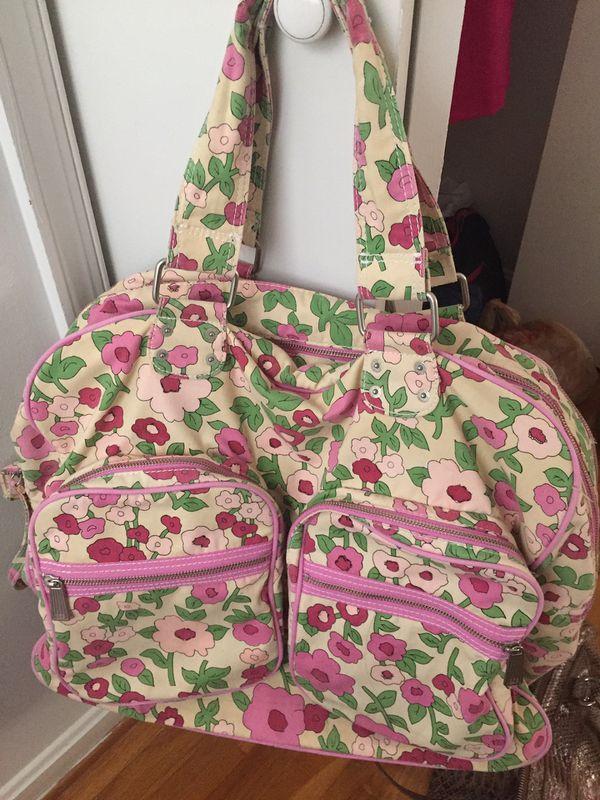 GAP denim big travel bag