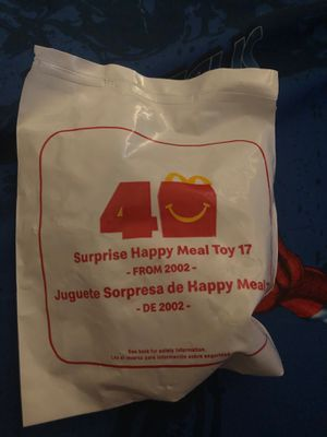 Unopened surprise happy meal toy collectible for Sale in Phoenix, AZ