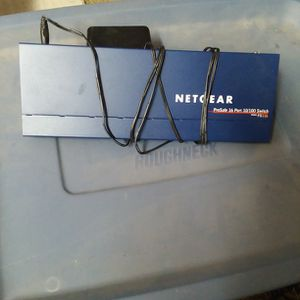 Netgear 16 port 10/100 switch for Sale in Anamosa, IA