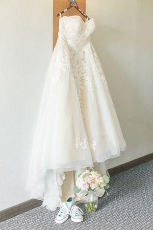 A-line plus size wedding gown for Sale in Bartlesville, OK