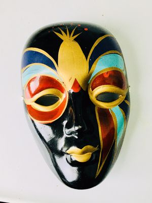 Vintage Chinese Handcrafted Mask for Sale in Raleigh, NC