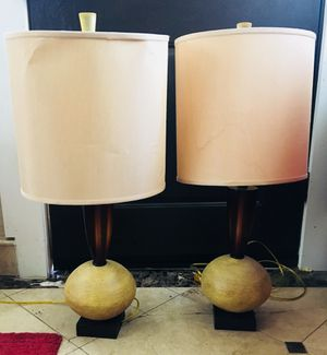 Haverty's lamps for Sale in Dallas, TX