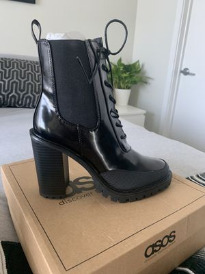 Asos Black Heel Boots for Sale in Los Angeles, CA