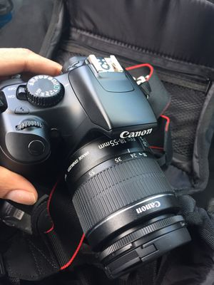 Canon camera rebels t3 for Sale in Washington, DC