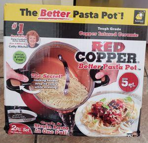 Red Copper Pasta Pot - New! for Sale in San Fernando, CA