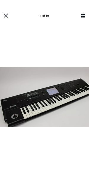 KORG M50 61 Key Keyboard Music Workstation Synthesizer for Sale in Hialeah, FL